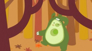 Avocado Bear Still 002