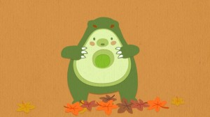 Avocado Bear Still 005