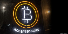 Bitcoin Logo - Bitcoin Accepted Here Neon Sign - Duncan Rawlinson https://flic.kr/p/jPmVuy