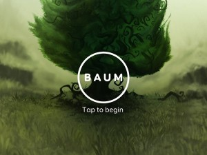 Baum Screenshot Start Page